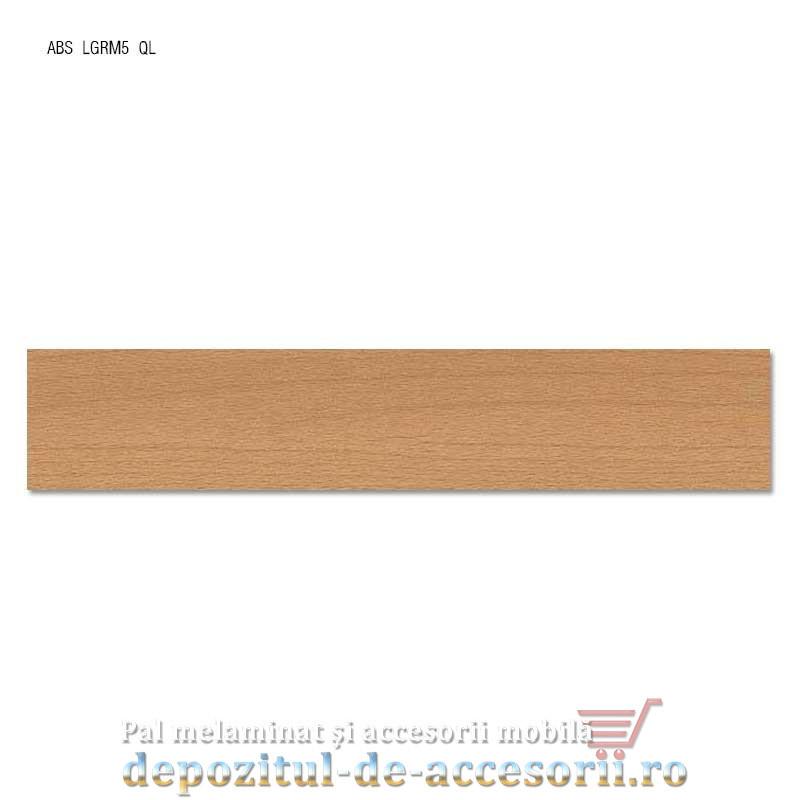 Cant ABS Fag Tauern natur 22mm x 0,4mm. Compatibil cu PAL Melaminat Fag Tauern natur H3911 ST15 Egger