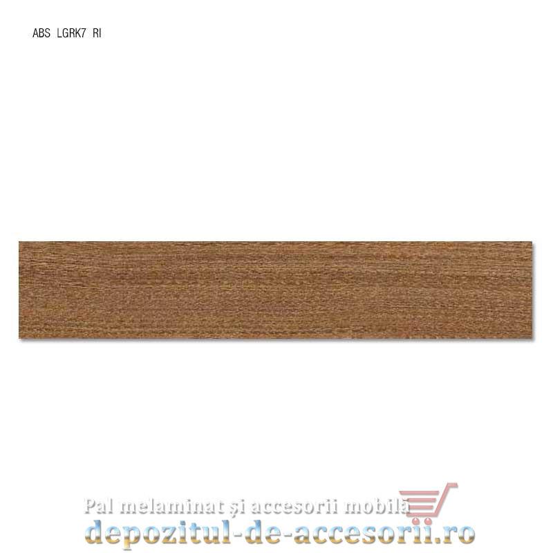 Cant ABS Frasin Cassino maro 22mm x 0,4mm. Compatibil cu PAL Melaminat Frasin Cassino maro H1215 Egger