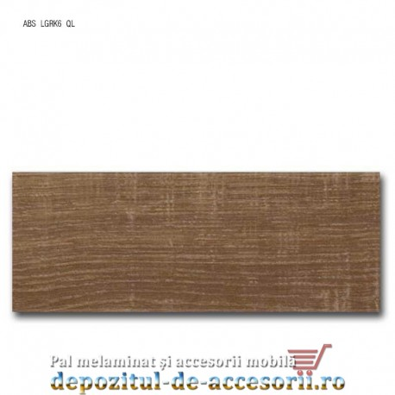 Cant ABS Stejar autentic maro 43mm x 2mm Compatibil cu PAL Melaminat Stejar autentic maro Egger H1151 ST10