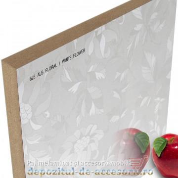 Mai multe despre Panou MDF Alb floral 628 super lucios AGT high gloss