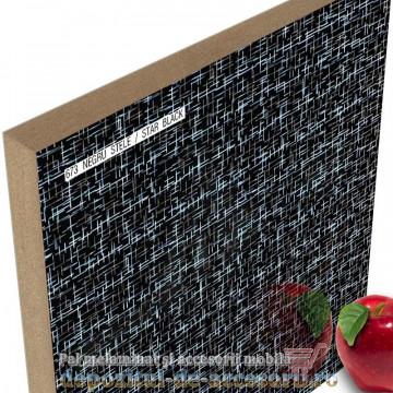 Panou MDF Negru stele 673 super lucios AGT high gloss