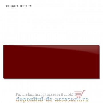 Cant ABS Bordo 43mm x 1mm super lucios (high gloss)