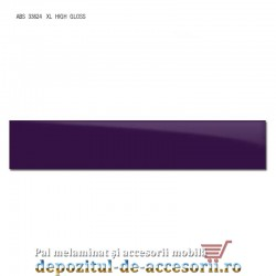 Cant ABS Violet 22mm x 1mm super lucios (high gloss)
