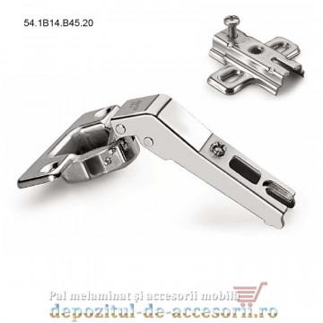 Balama aplicație uși 45° deschidere 90° 54.1B14.B45.20