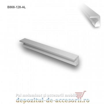 Mâner mobilier Aluminiu B868-128-AL
