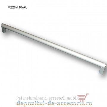 Mâner mobilier Aluminiu M228-416-AL