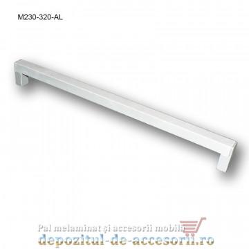 Mâner mobilier Aluminiu M230-320-AL