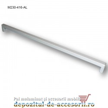 Mâner mobilier Aluminiu M230-416-AL