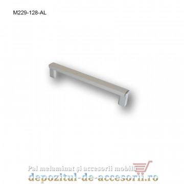 Mâner mobilier Aluminiu M229-128-AL Cebi