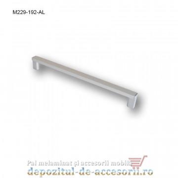Mâner mobilier Aluminiu M229-192-AL