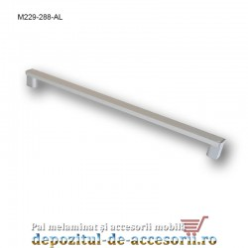 Mâner mobilier Aluminiu M229-288-AL Cebi