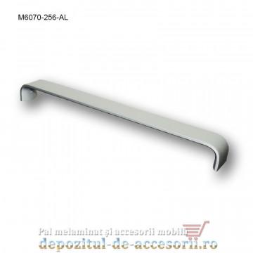 Mâner mobilier Aluminiu M6070-256-AL Satinat