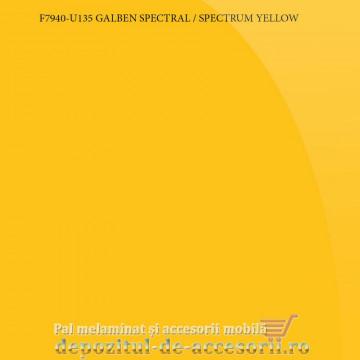 Panou MDF Acrilic galben spectral super lucios Unilin high gloss F7940-U135-19-UNI