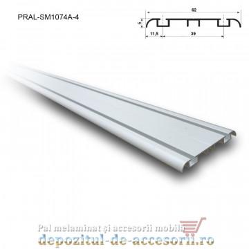 Sina dubla inferioara pentru SKM250 lungimea 4m aluminiu