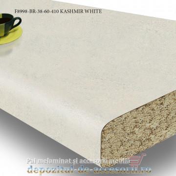 Blat de bucatarie mt 3D Kashmir White 38x600x4100mm Pfleiderer F8998 BR