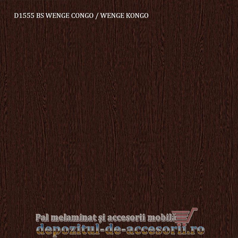 Pal melaminat Wenge Congo D1555 BS 16mm Krono 16x2800x2070mm