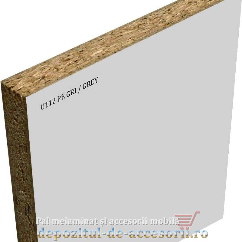 Pal melaminat Gri U112 PE perlat Krono 18x2800x2070mm