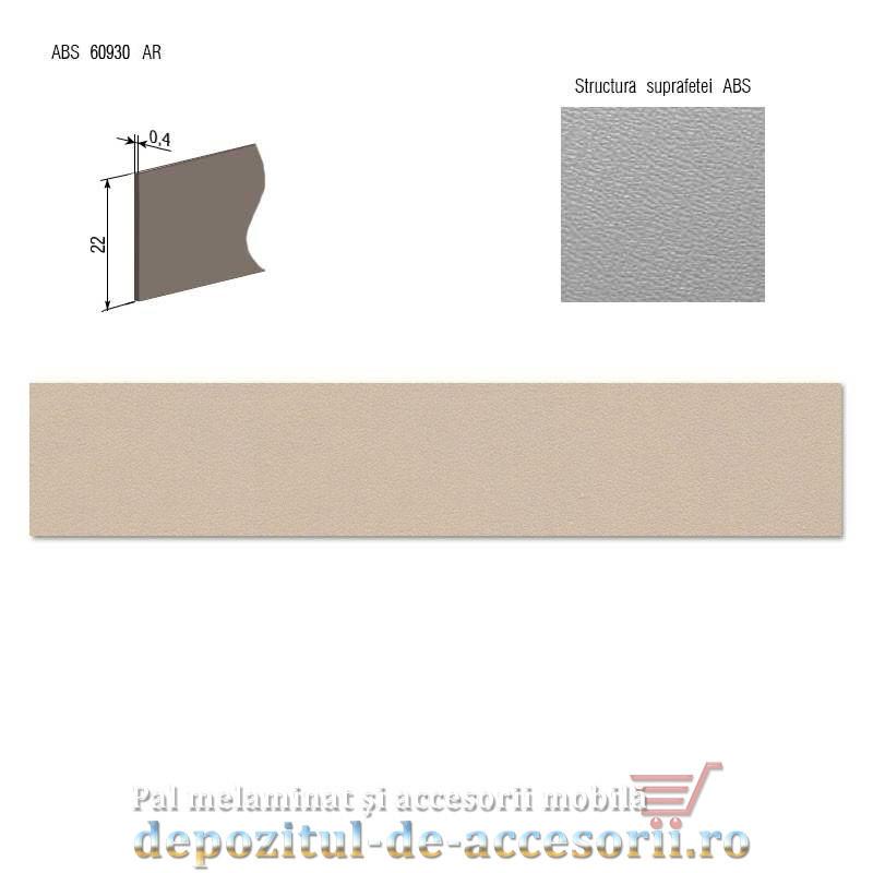 Cant ABS Capuccino 22mm x 0,4mm pentru pal melaminat D126 PS14 Kastamonu
