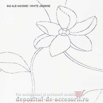Panou MDF Alb Iasomie 642 super lucios AGT White Jasmine high gloss