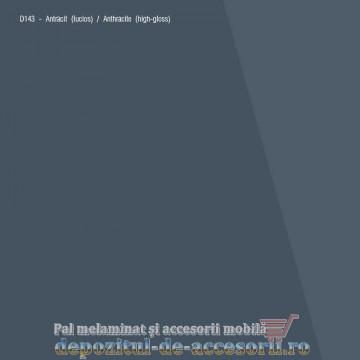 PAL Melaminat Antracit D143 lucios