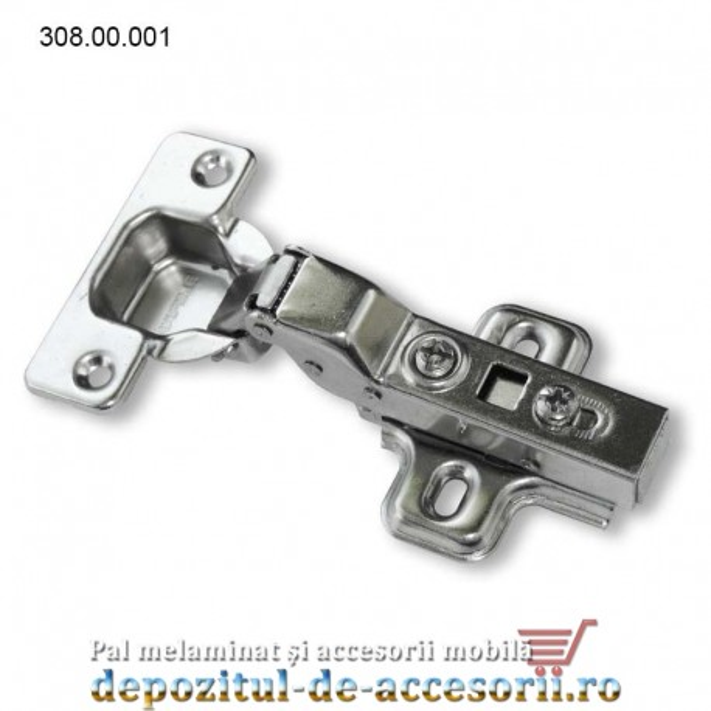 "Balama usi semiaplicate 100° CLIP ""softclose"" incorporat 71DS3650"