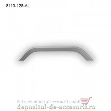Maner mobilier Aluminiu M8113-128-AL Satinat