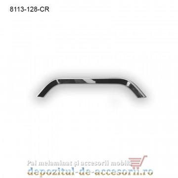 Maner mobilier Aluminiu M8113-128-CR Cromat