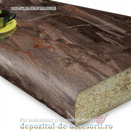Blat bucătărie SAIPAN MARBLE 1066-SQ 38x600x4100 Krono Swiss