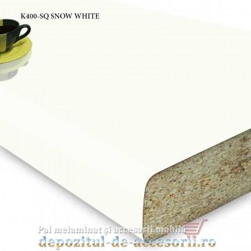 Mai multe despre Blat bucătărie SNOW WHITE K400-SQ 38x600x4100 Krono Swiss