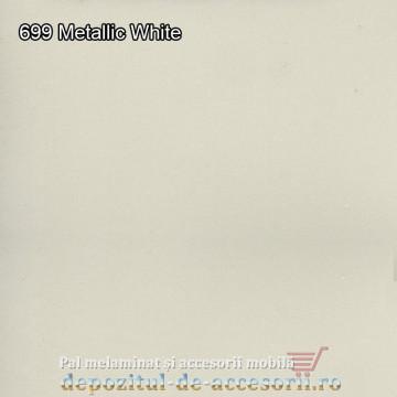 Panou MDF Metallic White super lucios 699 AGT HG