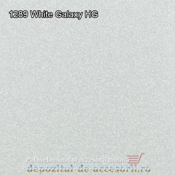 Panou MDF 1289 Alb Galaxy super lucios Arkopa high gloss