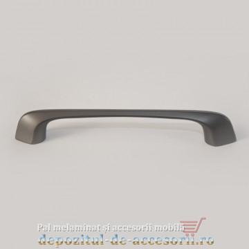 Mâner mobilier 22038 modern gri 128mm