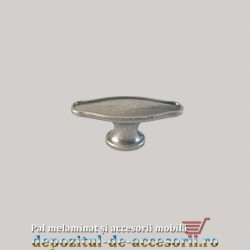 Buton mobilier 1377 antic silver