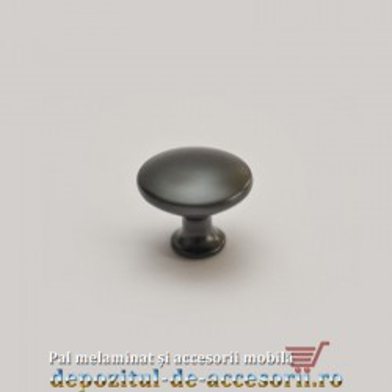 Buton mobilier 315-26 negru