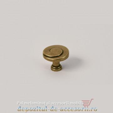 Buton mobilier 5103 antic mat
