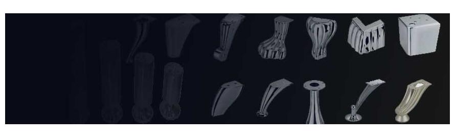 Picioare mobilier