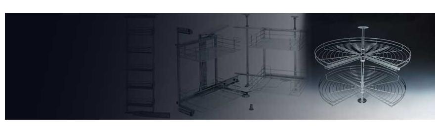 Coloane rotative bucătărie
